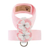 Special Occasion Pink Tinkie UltraSuede Dog Harness