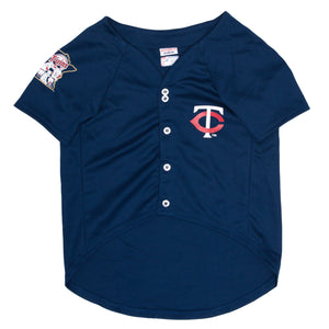 Official Licensed Pet Sports Jersey Apparel - Minnesota Twins Baseball MLB Dog Jersey