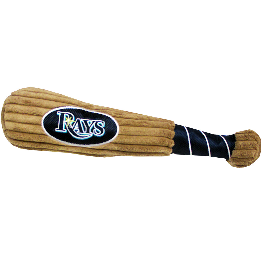 Tampa Bay Rays Plush Baseball Bat Dog Toy