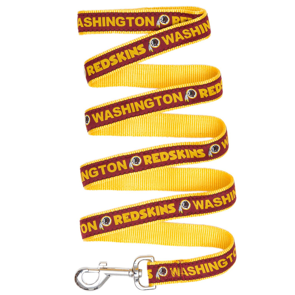 Washington Redskins NFL Football Ribbon Woven Nylon Dog Leash