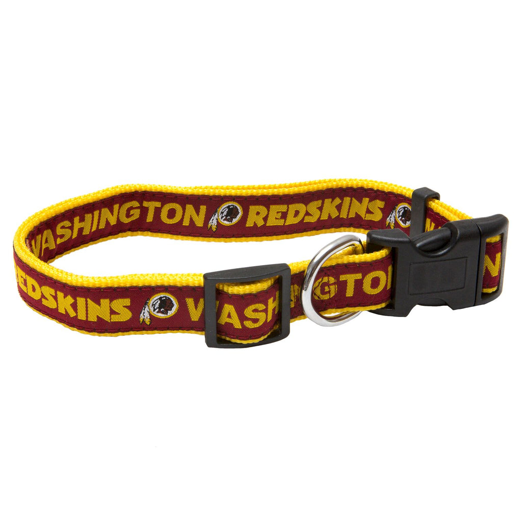 Washington Redskins NFL Sports Nylon Ribbon Dog Collar