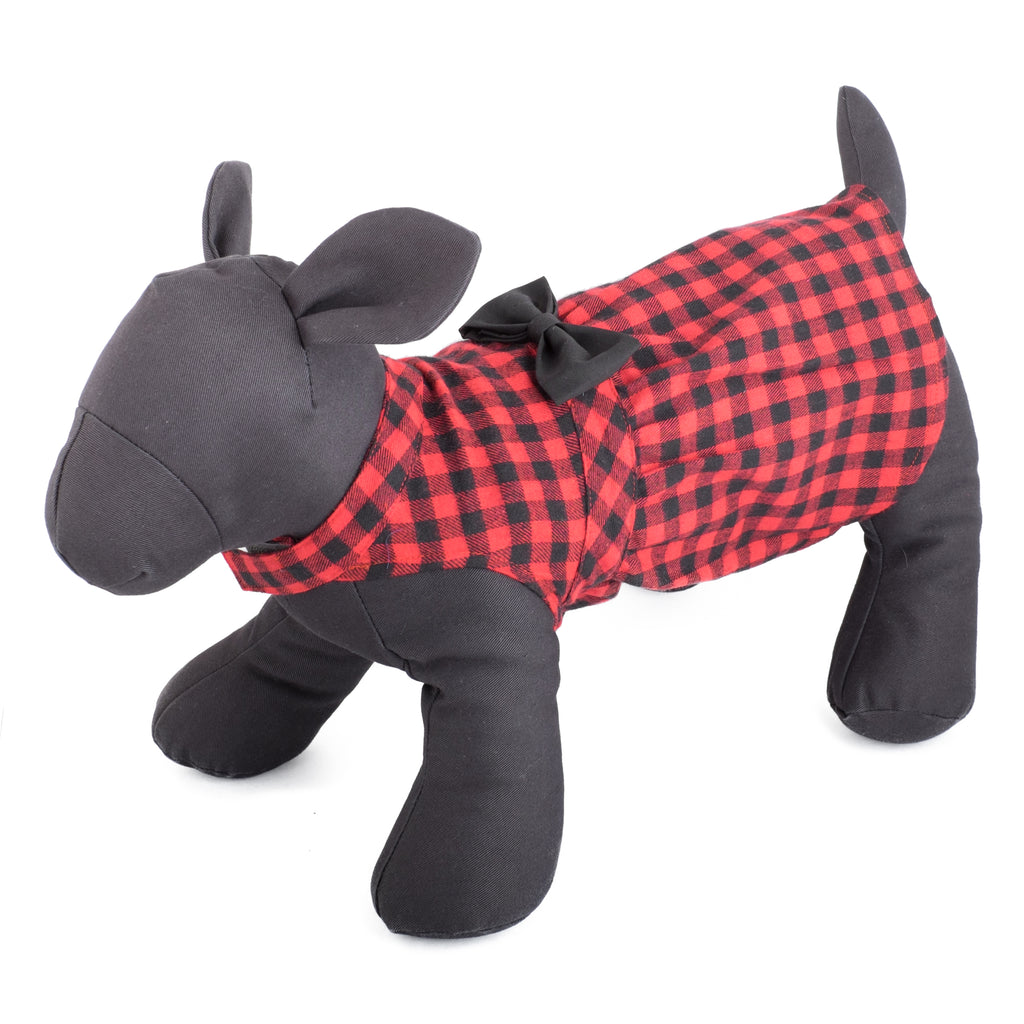 Flannel Woven Pet Clothing