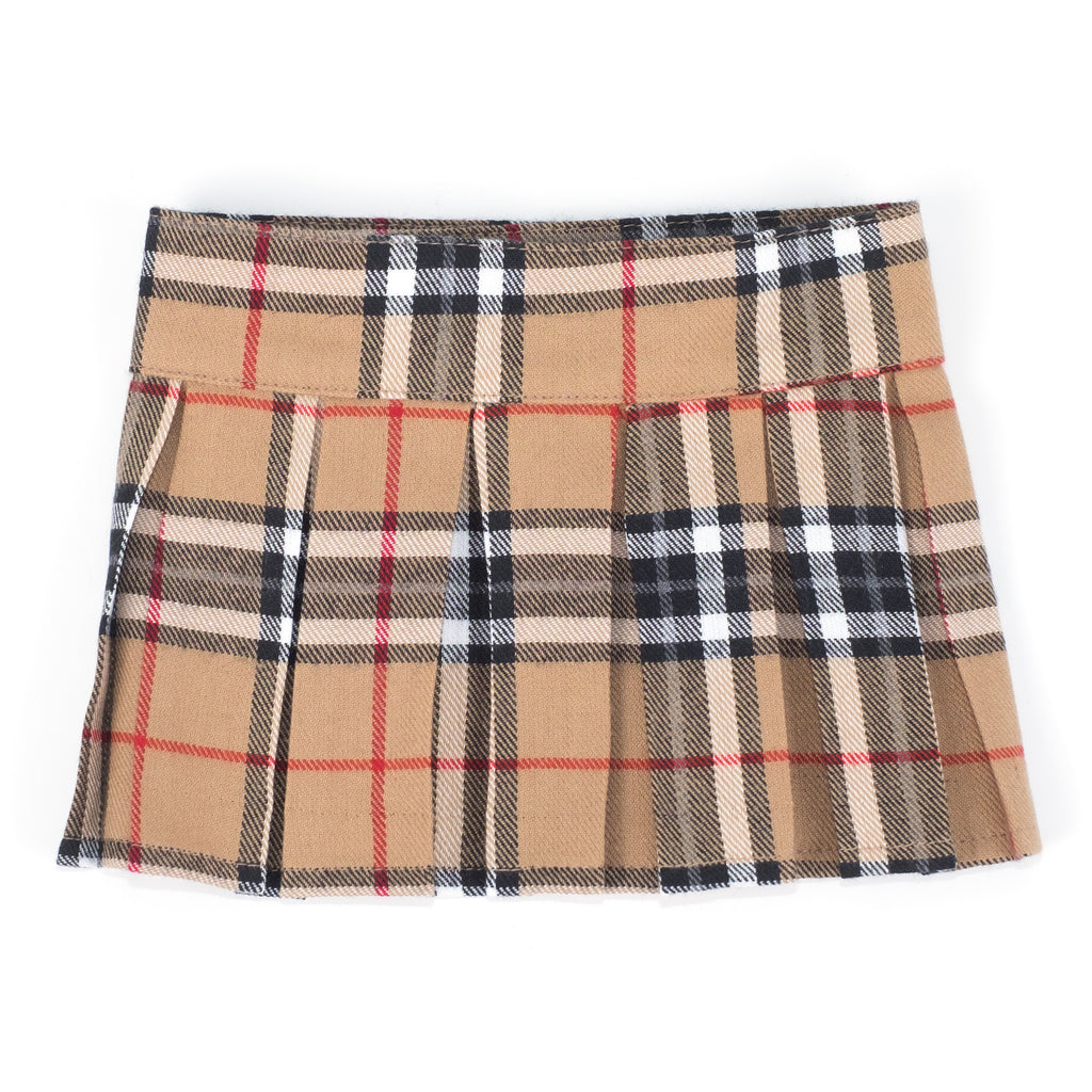 Flannel Woven Dog Skirt