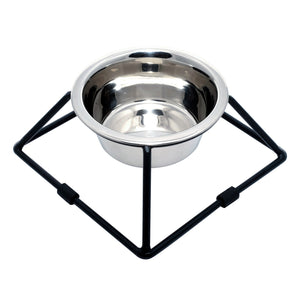M-Series Luxury Feeder Single Stand & Pet Bowl