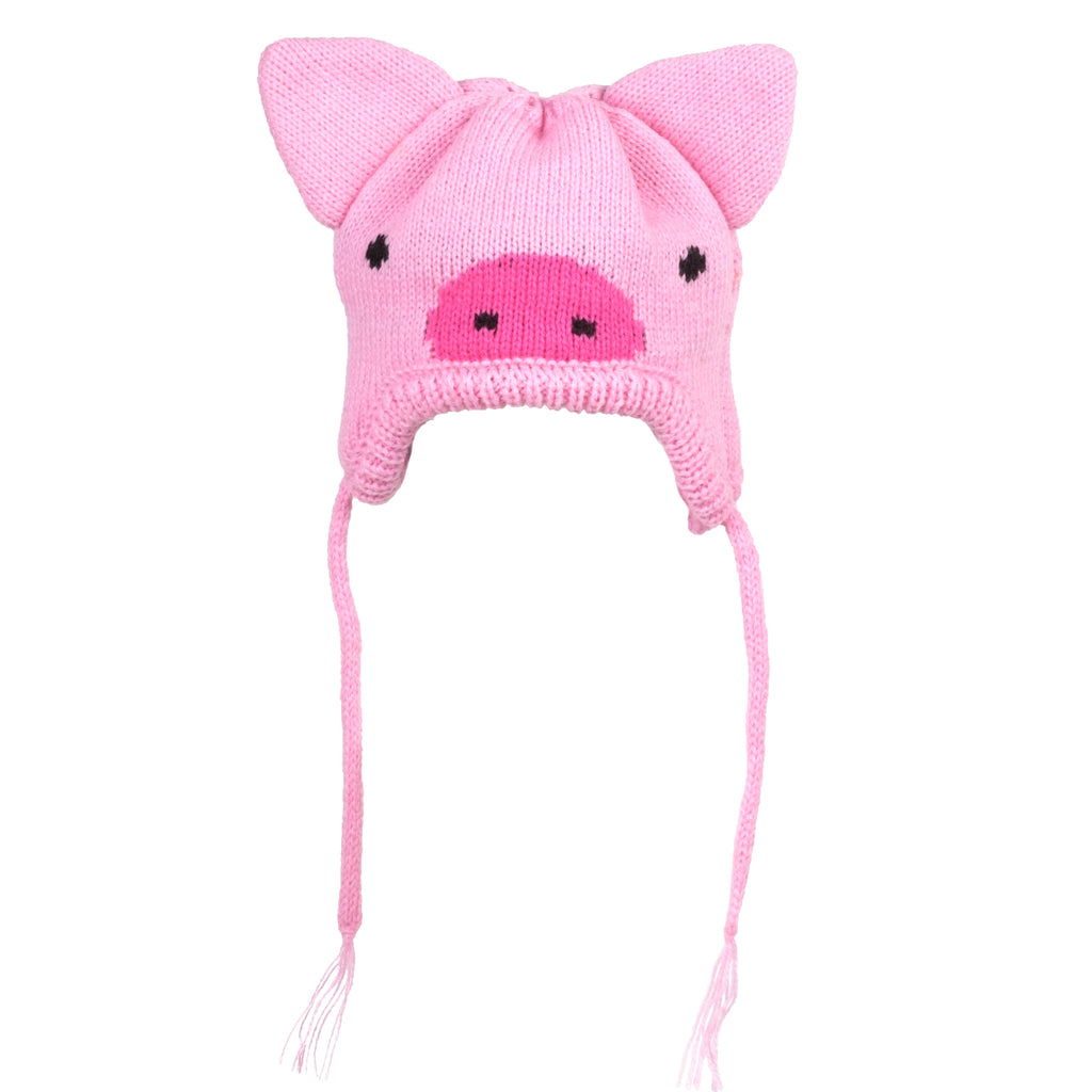 Upscale Dog Sweater Knit Dog Hat - Pig Hat