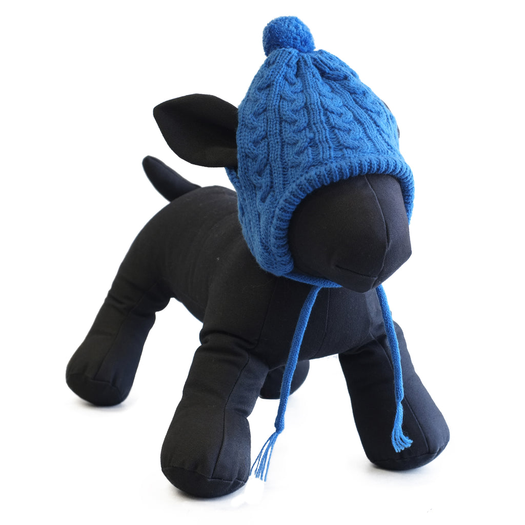 Upscale Dog Sweater Knit Hat