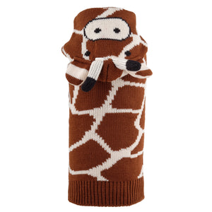 Double Knit Designer Hoodie 100% Ultra-Soft Acrylic Warm Pet Dog Sweater Costume - Geoffrey The Giraffe