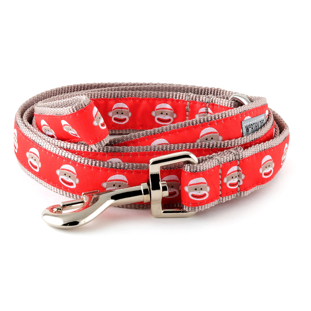Sock Monkey Pet Leash