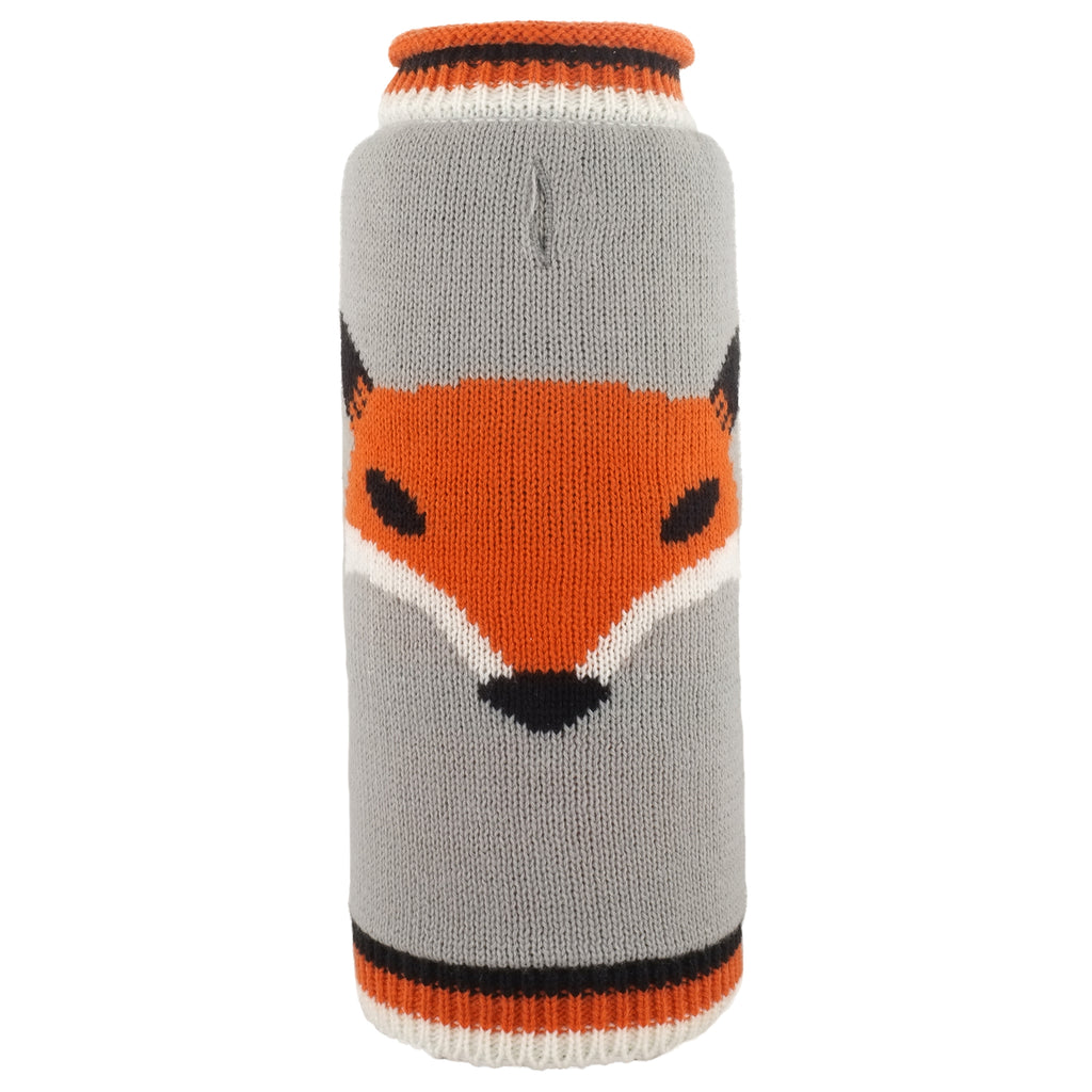 Foxy Fox Roll Neck 100% Ultra-Soft Acrylic Double Knit Designer Turtleneck Pet Dog Sweater