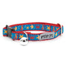 Under The Sea Fish Seahorses Ocean Inspired Woven Ribbon Nylon Pet Cat & Dog Collar