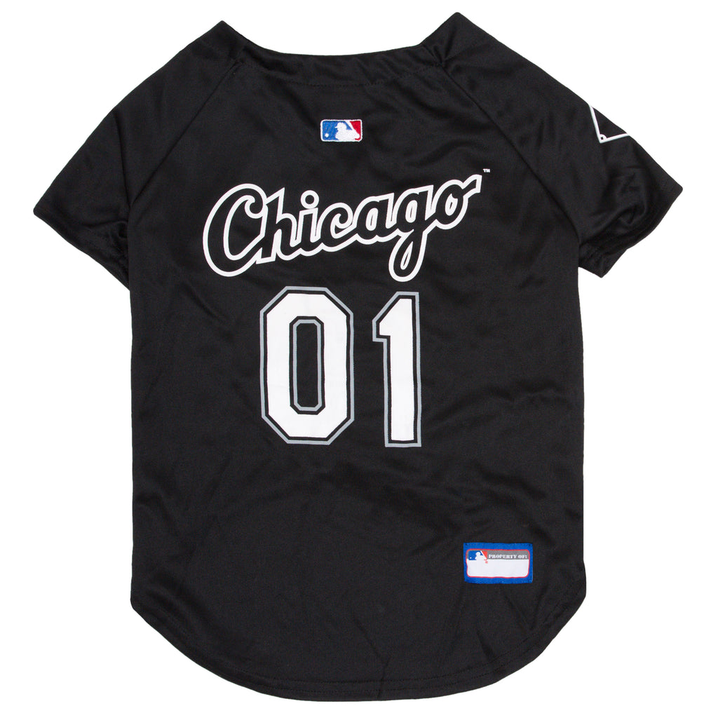 Official Licensed Pet Sports Jersey Apparel - Chicago White Sox Baseball MLB Dog Jersey