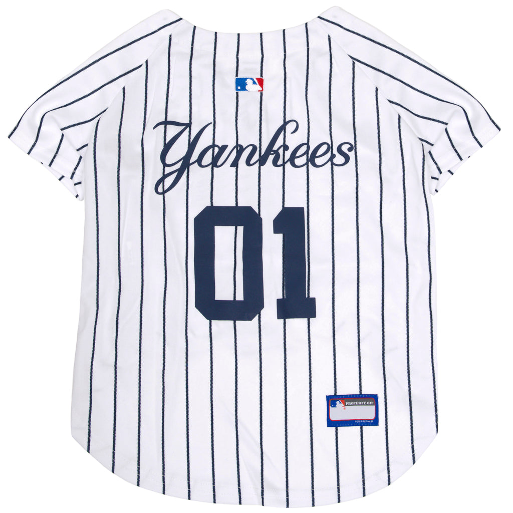 Official Licensed Pet Sports Jersey Apparel - New York Yankees Baseball MLB Dog Jersey