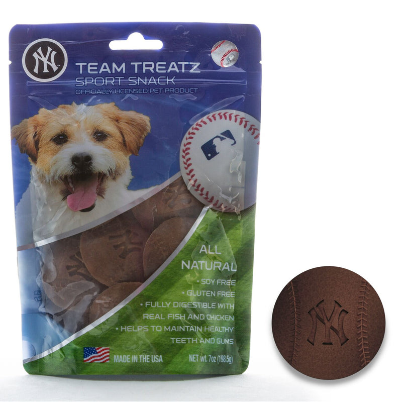New York Yankees All Natural Soy & Gluten Free Dog Treats