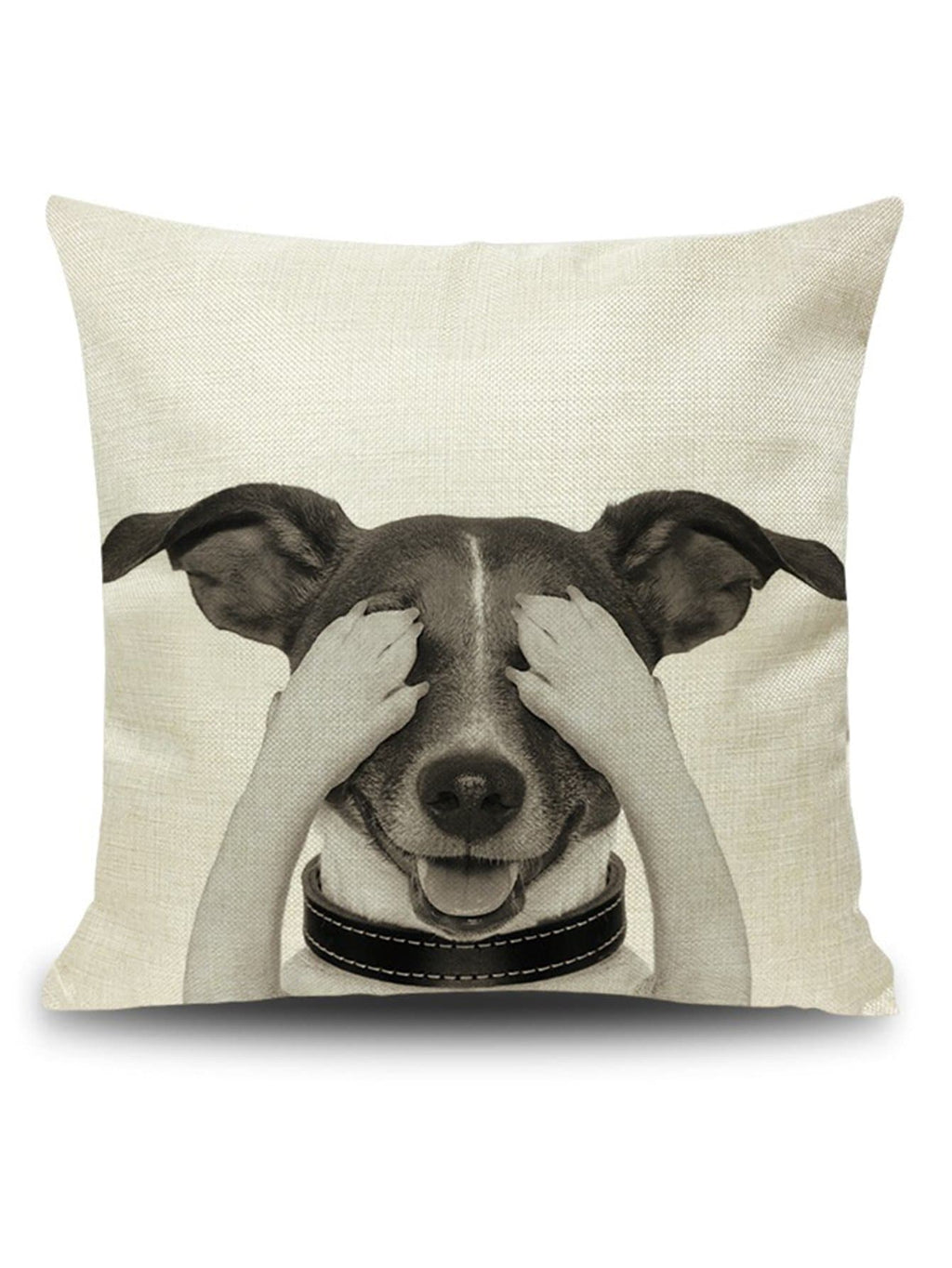 Doggy Throw Pillow Cover