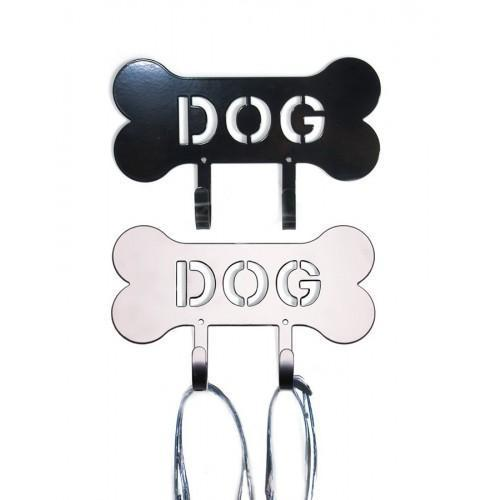 Designer Harry Barker Powder Coated Double-Hook DOG Leash Holder