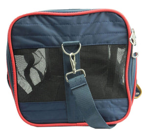 Aero-Zoom Airline Approved Lightweight Collapsible Pet Dog Bag Carrier
