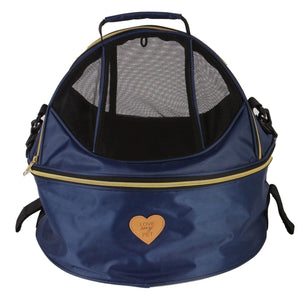 Air-Venture Dual-Zip Airline Approved Panoramic Circular Travel Pet Dog Carrier