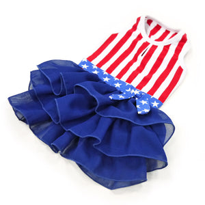 American Girl Patriotic Designer Dog Dress