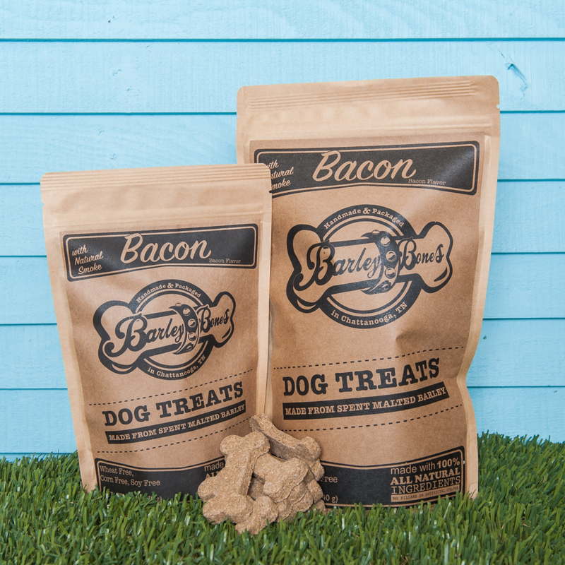 Barley Bones Bacon Dry Craft Dog Treats