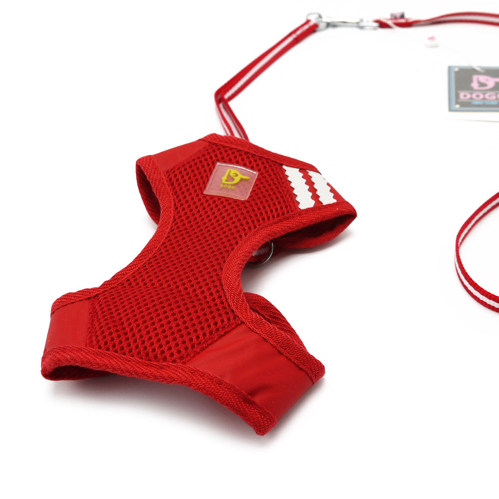 EasyGo Basic Red Dog / Cat Harness