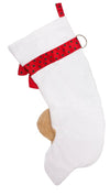Beagle Handmade Designer Holiday Christmas Dog Stocking
