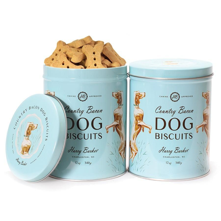Bird Dog Tin with Bacon Dog Biscuit Treats