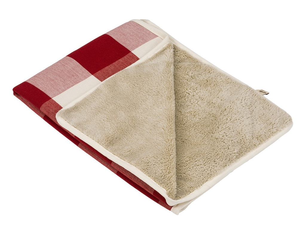 Buffalo Check Crimson Designer Pet Blanket