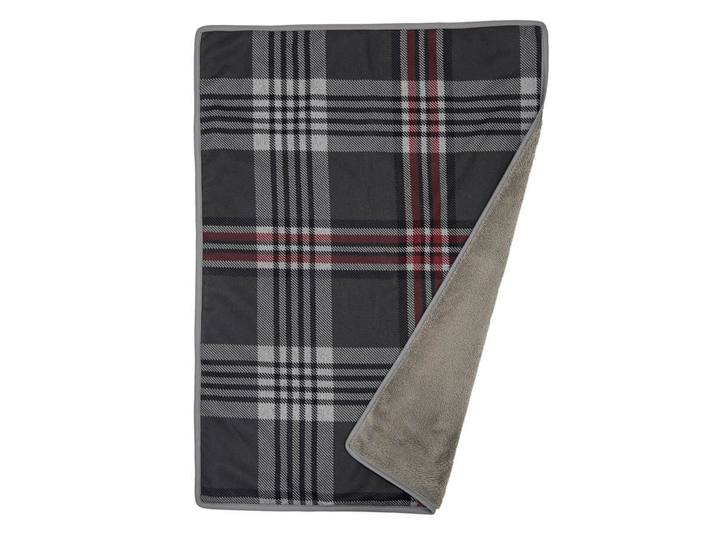 Scottie Plaid Designer Pet Blanket