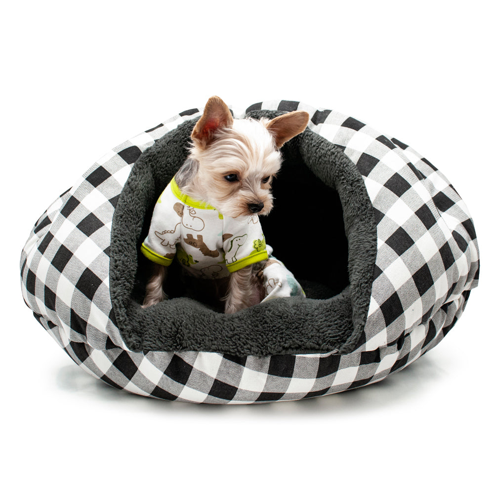 Luxury Security Cave Baroque Cat / Dog Pet Bed