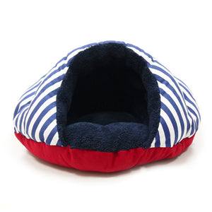 Luxury Security Cave Nautical Cat / Dog Pet Bed