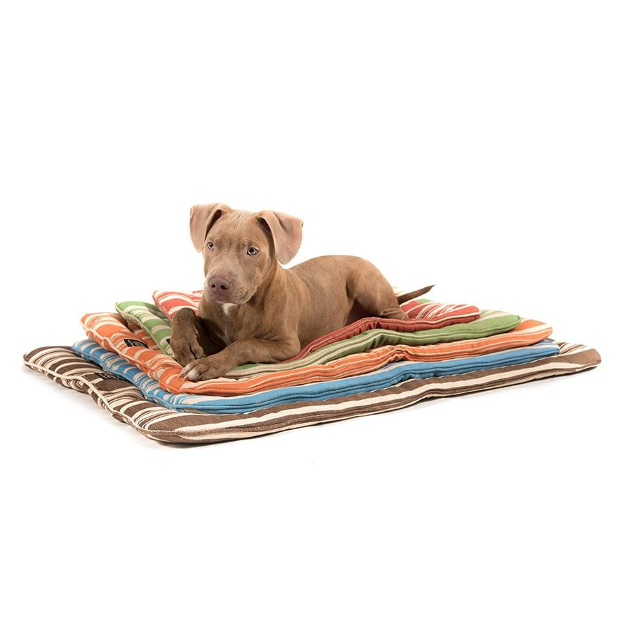 Classic Stripe Hypo-Allergenic Travel Dog Bedroll