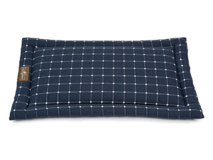 Caspian Navy Luxury Travel & Crate Pet Bed Mat