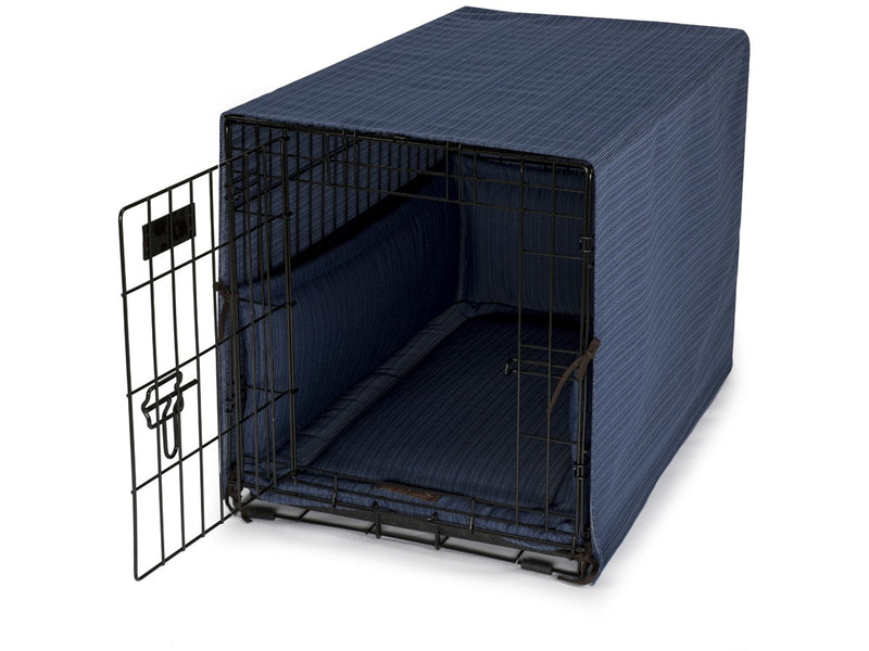 Bay Ocean Dog Crate Cover Up Set USA Made by Jax and Bones