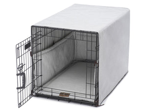 Windsor Dove Dog Crate Cover Up Set USA Made by Jax and Bones