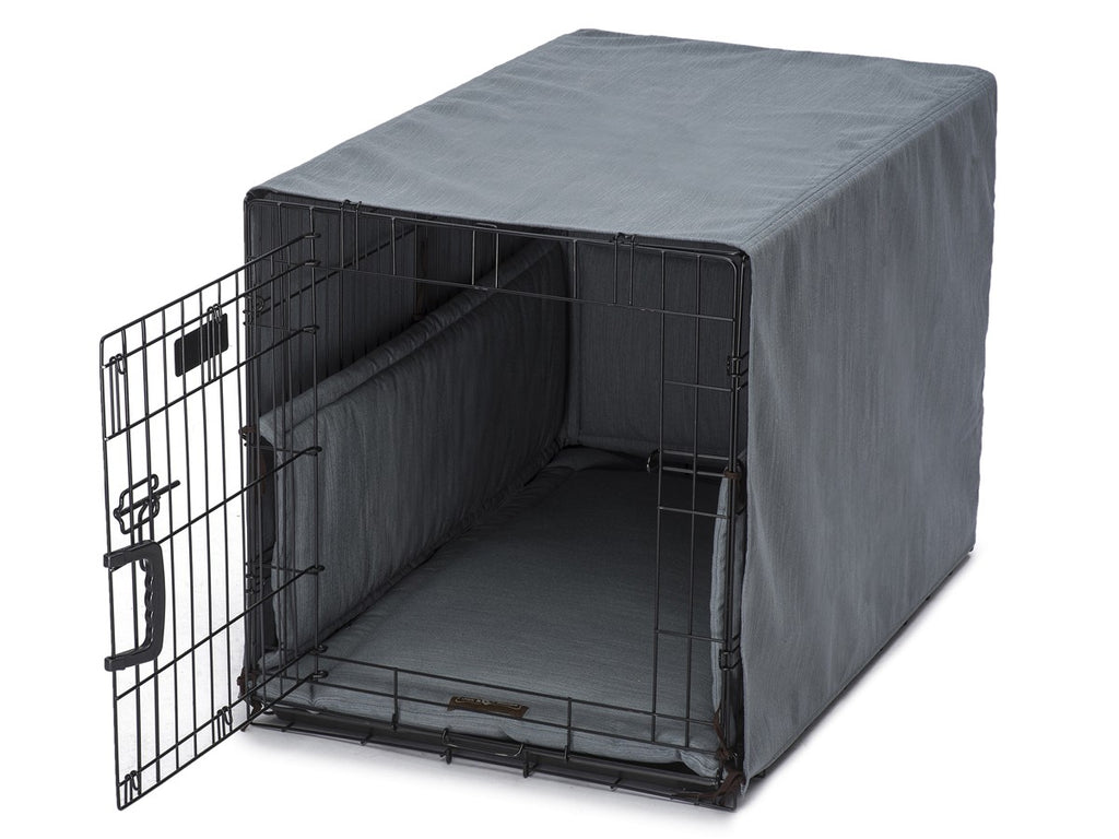 Windsor Lagoon Dog Crate Cover Up Set USA Made by Jax and Bones