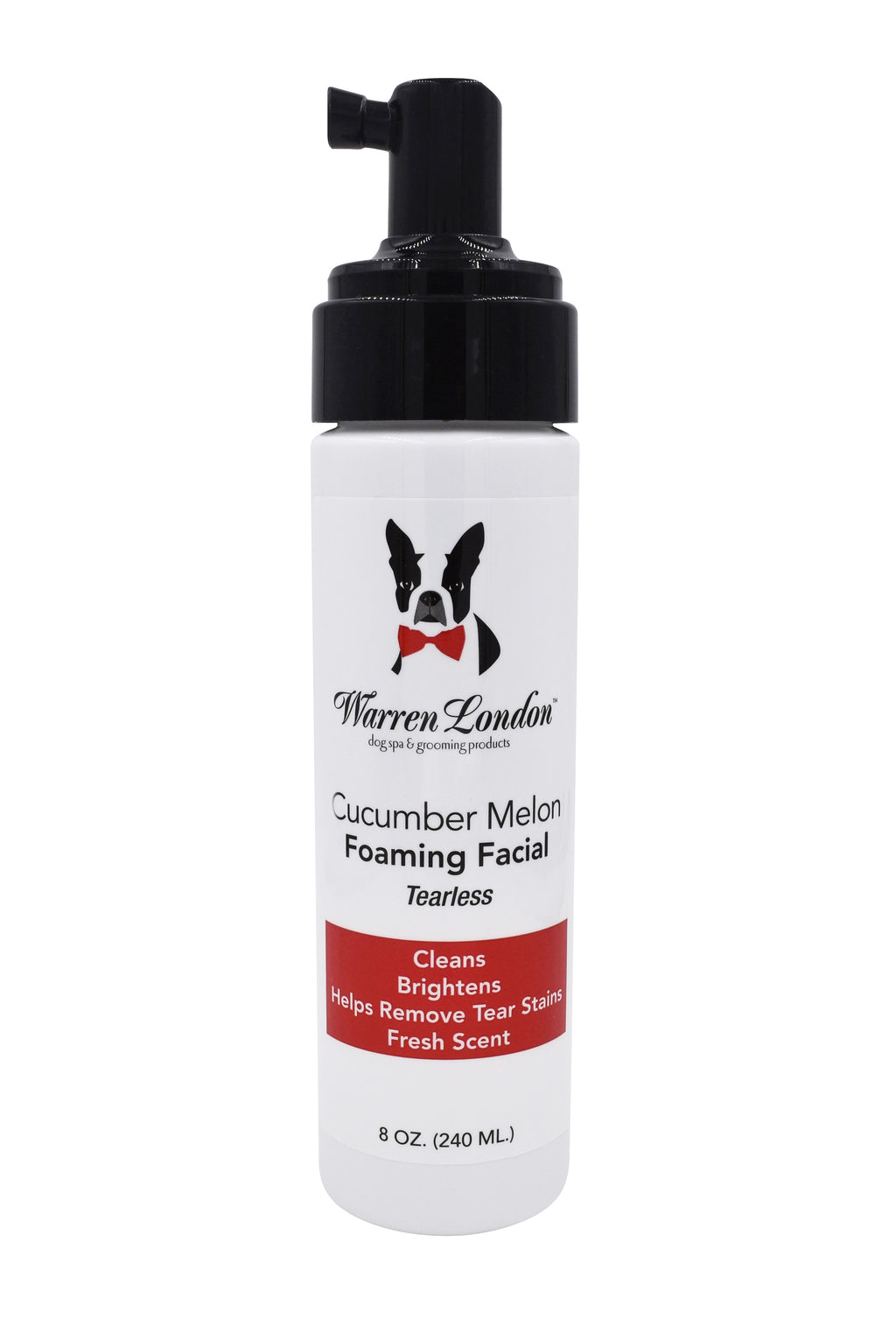 Warren London Cucumber Melon Foaming Facial for Dogs