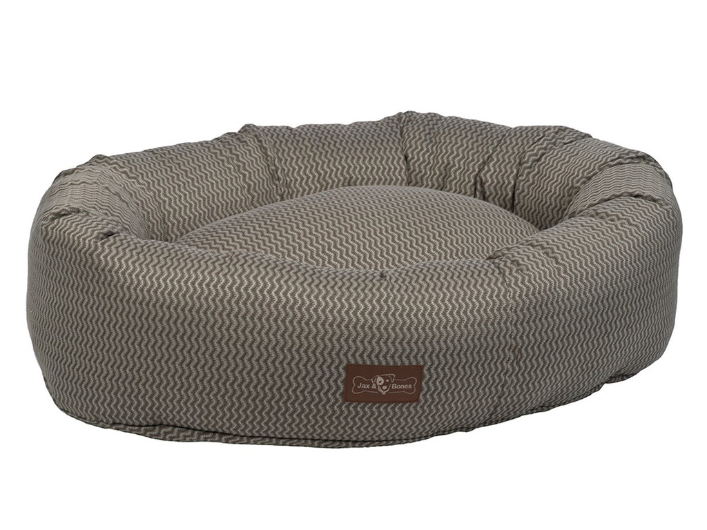 Mod Ash Designer Hypo-Allergenic Eco-Friendly Donut Dog Bed