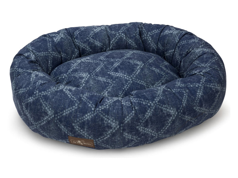 Shibori Designer Hypo-Allergenic Eco-Friendly Donut Dog Bed