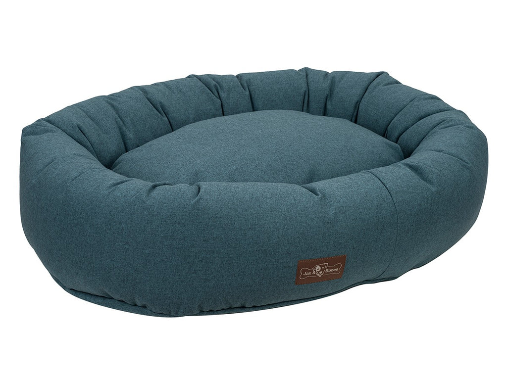 Juniper Designer Microfiber Hypo-Allergenic Eco-Friendly Donut Dog Bed