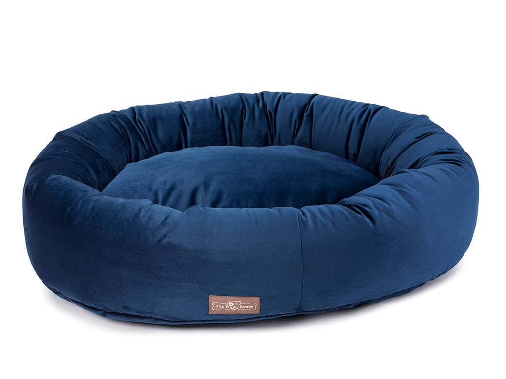 Vintage Royale Plush Velour Hypo-Allergenic Eco-Friendly Donut Dog Bed