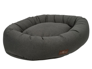Licorice Designer Microfiber Hypo-Allergenic Eco-Friendly Donut Dog Bed