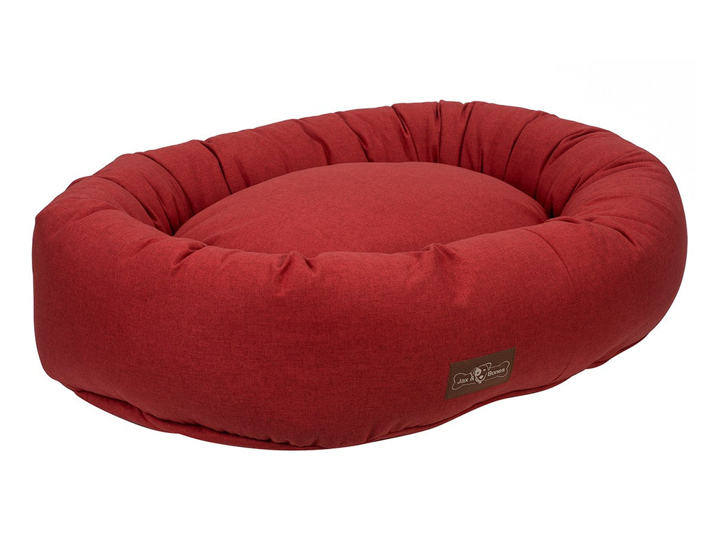 Turmeric Designer Microfiber Hypo-Allergenic Eco-Friendly Donut Dog Bed