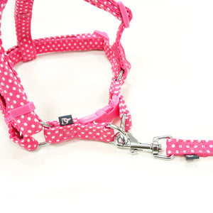 EasyClick MicroSuede Dog Harness & Leash
