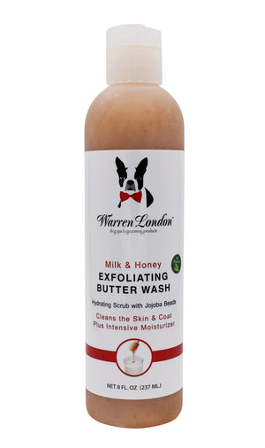 Warren London Designer Fur Coat Hydrating Butter Dog Shampoo Wash & Moisturizing Conditioner Bundle Set