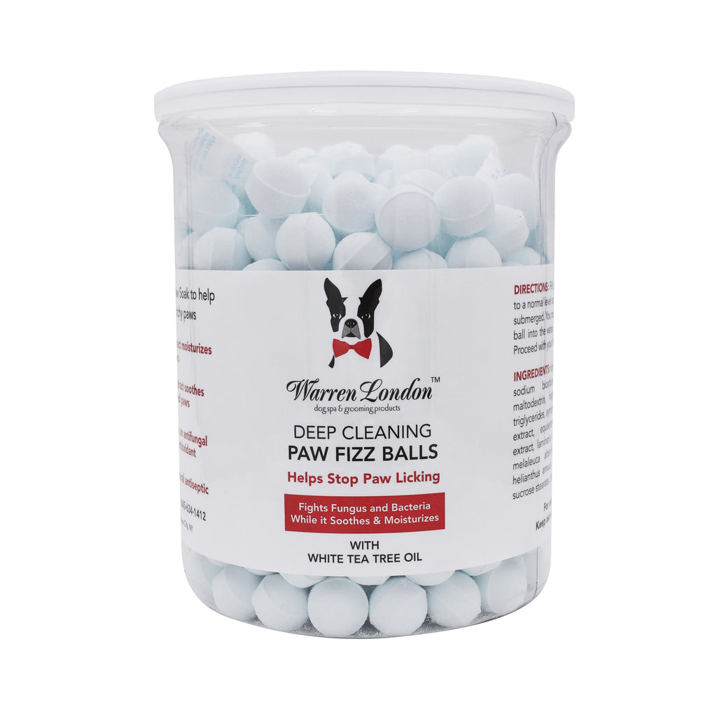 Warren London Antibacterial & Anti-fungal Dog Pet Paw Fizz 75 Balls