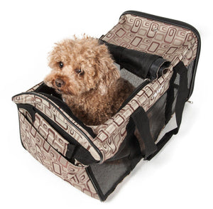 Flightmax Airline Approved Collapsible Lightweight Folding Travel Pet Dog Carrier