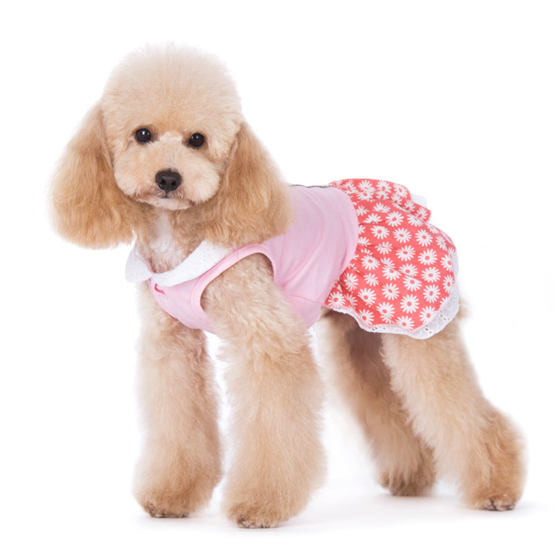 Flower Bling Designer Dog Dress