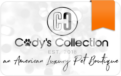 $25 E-Gift Card to Cody's Collection Luxury Pet Boutique
