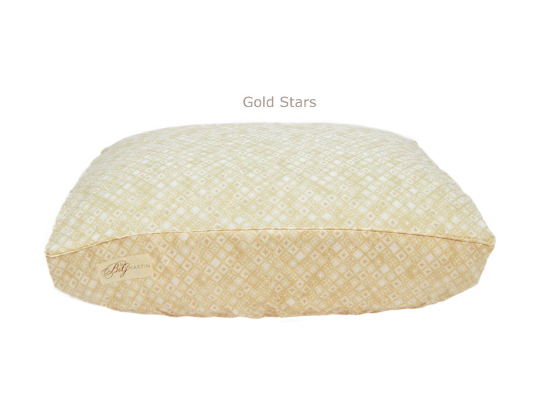 Gold Stars Deluxe Fitted Linen Cover for B&G Martin Pet Beds