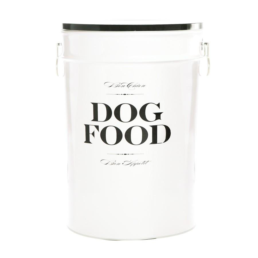 Harry Barker Designer Bon Chien Dog Food Kibble Bin Storage Canister - FDA Approved